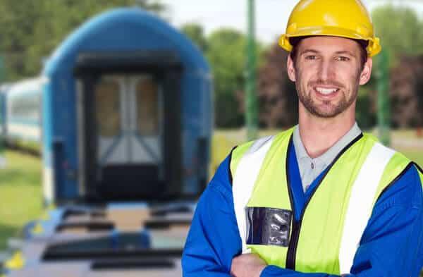 Vasútüzemi munkatárs